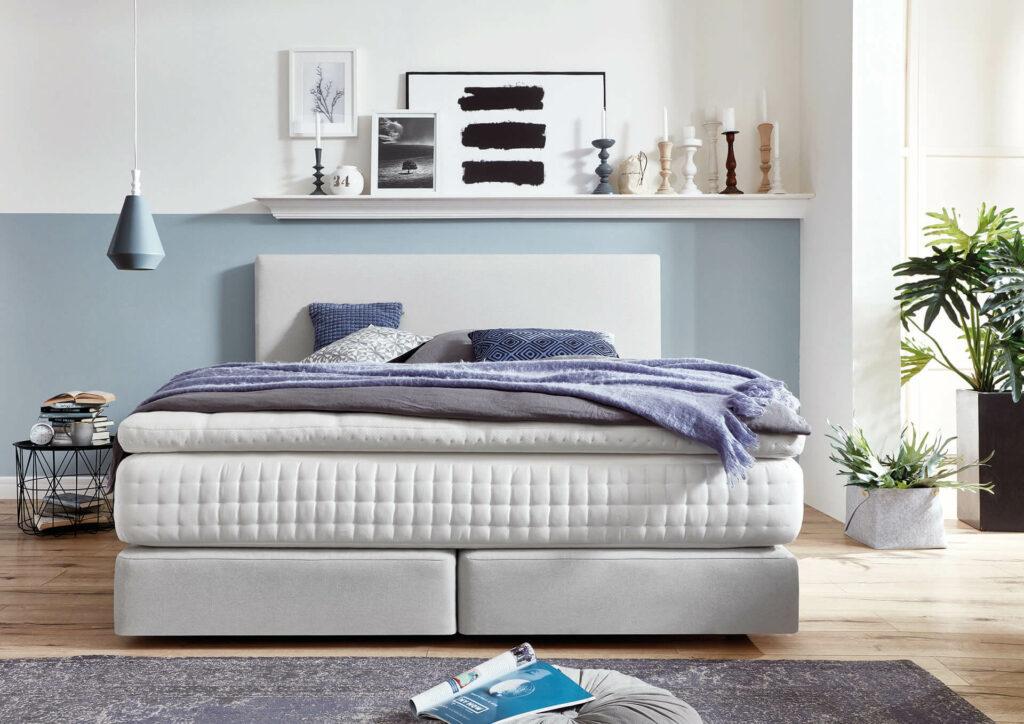 Box spring bed Toledo with 20 cm Box